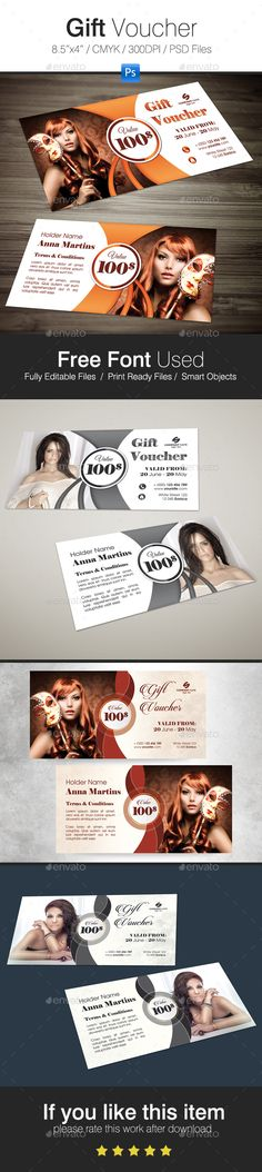 Fitness Gift Voucher Gift vouchers, Font logo and Logos - fitness gift certificate template