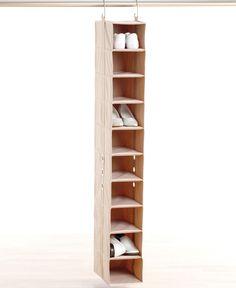 Neatfreak Shoe Rack, 10 Pair ClosetMAX Closet Shelf Organizer - Storage & Organization - For The Home - Macy's Shoe Organizer, Closet Organization, Jewely Organizer, Organizar Closet, How To Organize Your Closet, Closet Shelves, Master Closet, Hall Closet, Bathroom Closet