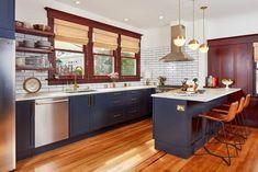 Kitchen, tile, wood floors, windows