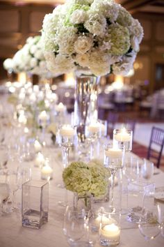 Reception, Flowers & Decor, Real Weddings, ivory, Centerpieces, Candles, West Coast Real Weddings, Classic Real Weddings, Classic Weddings, ...