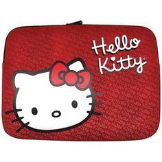 "Hello Kitty 9""-11"" Notebook Sleeve (red)"