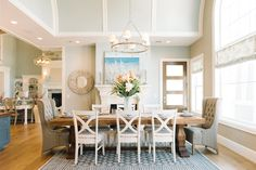 House of Turquoise: Dream Home Tour - Day One   featuring Classic Ring Chandelier by E.F. Chapman   SL5812