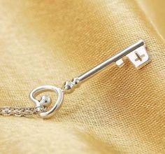 Ono Temple Key Pendant Necklace