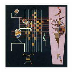 Wassily Kandinsky - Drei Ovale