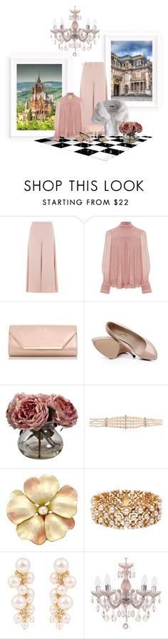 """CHÂTEAU DE VERSAILLES"" by lipservicebymel ❤ liked on Polyvore featuring Topshop, Isabel Marant, Dorothy Perkins, Nearly Natural, Yvonne Léon, Blue Nile and Lanvin"