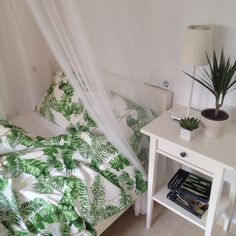 tropical bed set