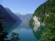 The beautiful Königssee, Bavaria, Germany