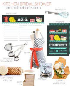 kitchen bridal shower invitations + ideas via http://emmalinebride.com/bridal-shower/kitchen-bridal-shower-invitations/