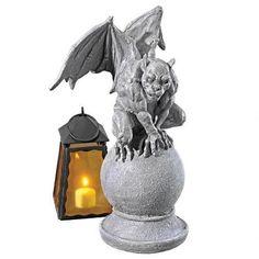 Malicay THE Malicious Gargoyle Statue Design Toscano grotesque gargoyle�statue, Grey, Outdoor Décor