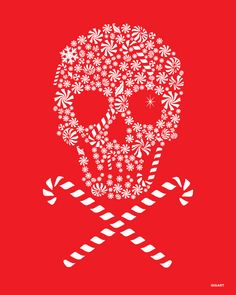 -Obsessed With Skulls — Happy Christmas Eve guys! Obsessed With Skulls — Happy Christmas Eve guys! Christmas Eve Meme, Deadpool Christmas, Dark Christmas, Christmas Makes, Halloween Christmas, Christmas Art, Coastal Christmas, Sugar Skull Art, Sugar Skulls