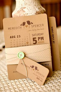 gorgeous rustic ideas for wedding invitations 3