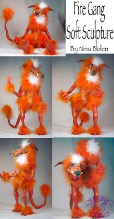 DeviantArt: More Like Fire Gang Labyrinth Soft Sculpture by The-GoblinQueen David Bowie Labyrinth, Labyrinth 1986, Labyrinth Movie, Soft Sculpture, Sculptures, Clay Monsters, Labrynth, Monster Drawing, Kobold