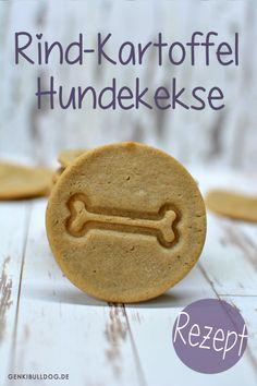 DIY #Hundekekse selbst backen Rezept auf www.genkibuldog.de