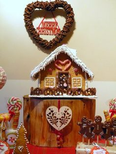 Gingerbread Christmas Decorations #gingerbread #christmas