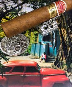 "Cigar Rest & Ashtray ""Silver Cigar Leaves"" | Wild but Elegant"