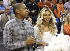 Jay-Z and Beyonce were spotted at the NBA basketball game between the Oklahoma City Thunder and the Los Angeles Clippers in Oklahoma City on Nov. 21, 2013.