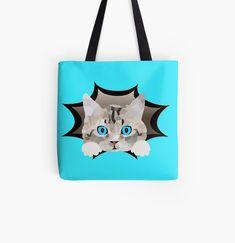 """Katze Mieze Kätzchen"" Turnbeutel von Luigishirts | Redbubble Reusable Tote Bags, Gifts For Cats, Baby Kitty, Nice Designs, Cinch Bag, Gymnastics, Nice Asses"