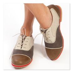 Croquet on the lawn anyone? Shoes by Equipt for play.
