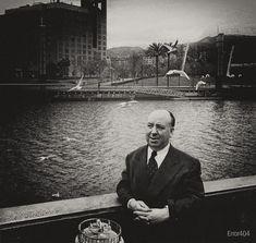 Hitchcock de visita en Bilbao - imbecil.com - La imbecilidad es un grado Alfred Hitchcock, Bilbao, Degree Of A Polynomial, Basque