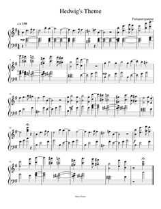 Sheet music made by Newsikc for Piano