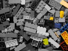 """LEGO bricks illustrate the simple idea behind infographics. Now let's go play with the """"data."""" LEGO bricks illustrate the simple idea behind infographics. Now let's go play with the """"data. Legos, Lego Club, Barbie, Lego Storage, Storage Ideas, Wtf Fun Facts, Random Facts, Lego Brick, Kids Events"""