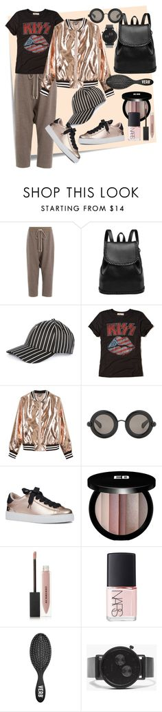 """Sporty day"" by mariloli1303 on Polyvore featuring moda, Post-It, Rick Owens, rag & bone, Hollister Co., Sans Souci, Christopher Kane, Nine West, Edward Bess y Burberry"