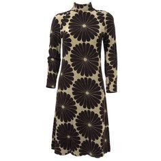 Vintage MARIMEKKO 60s Tan Floral Dress – THE WAY WE WORE