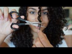 ▶ Corte para cabelo cacheado | Camilla Santana - YouTube