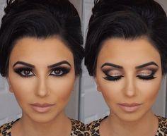 Makeup; maquiagem; olho