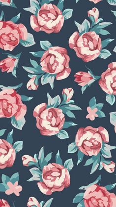 Wallpaper s, vintage flowers wallpaper, floral wallpaper iphone, wallpaper Cute Backgrounds, Cute Wallpapers, Wallpaper Backgrounds, Iphone Wallpaper, Floral Wallpapers, Flower Wallpaper, Cool Wallpaper, Pattern Wallpaper, Floral Print Wallpaper