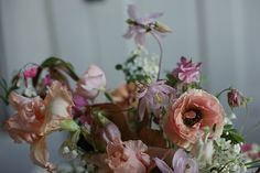 Pretty flowers by Amy Merrick