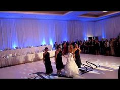 Kelsey And Kyle S Wedding Bridal Party Dance Off Nice Job Anthem Lights Pinterest Parties Karen Kingsbury