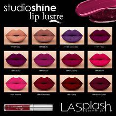 "LASplash Cosmetics Lip Lustre  ""Nala"" and ""Belle"" please!"