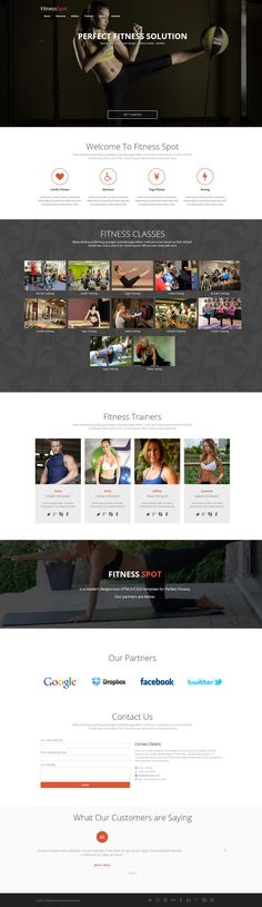 25 Free and Premium HTML CSS Sports Website Templates Website - fitness templates free
