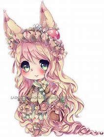 Anime Chibi Fox Girl Dibujos Kawaii Chibi Dibujos Munecas Kawaii
