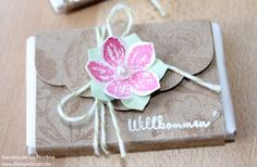 Goodie Stampin Up Verpackung Tag Give Away