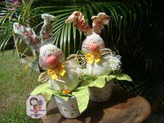 https://flic.kr/p/CSCCWf   Coelho no vaso #2                                  Mais um modelinho de coelinho no vaso....Não ficaram fofos!!!