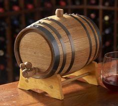 Mini Oak Wine Barrels He has been wanting a few of these since 2015