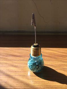 ランプ瓶 写真立て カード立て メモ立て
