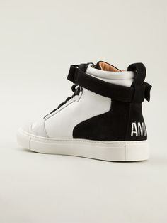 Ami Alexandre Mattiussi Hi-top Sneakers - Elite - Farfetch.com