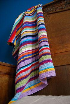 crocheted blanket | Flickr - Photo Sharing!