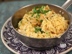 Pilaf de orez cu pui in stil indian. Pui Biryani.