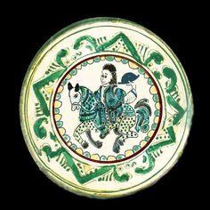 Romania Pottery:Moldova, Bucovina, Basarabia, Bukowina, Bessarabia Moldova, Romania, Folk Art, Canon, Decorative Plates, Museum, Pottery, Paintings, Traditional