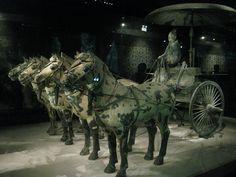 קובץ:Terracotta Army - Bronze chariot.JPG – ויקיפדיה