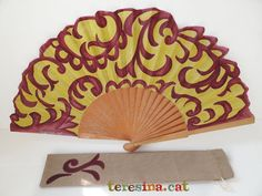 Abanico arabescos Coloring Books, Coloring Pages, Fan Decoration, Diy Fan, Hot Flashes, Hand Fan, Party Supplies, Fancy, How To Make