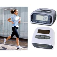 Lista Solar Enrgy Rechargeable Pedometer -- You can get more details by clicking on the image. (This is an affiliate link and I receive a commission for the sales) #Pedometers