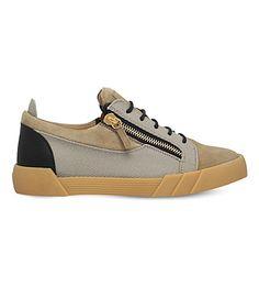 GIUSEPPE ZANOTTI Lo Shark Gum Sneakers. #giuseppezanotti #shoes #sneakers