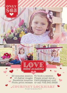 Valentine Mini Session <3