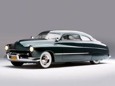 Sam Barris bought his 1949 Mercury brand new late in 1948.  He restyled it around 1950-1951. Later owner John Mumford har Roy Brizio Street Rods restore the car for him some years ago: http://ift.tt/2ogOSCZ