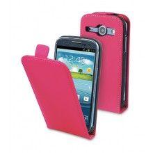 Forro Samsung Galaxy Core Muvit Slim con Protector Pantalla Rosa  $ 40.165,57